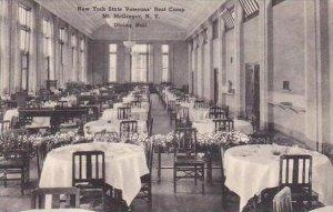 New York Mount Mcgregor New York State Veterans Rest Camp Dining Hall Albertype