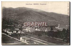 Moosch - Vue Generale Postcard Old