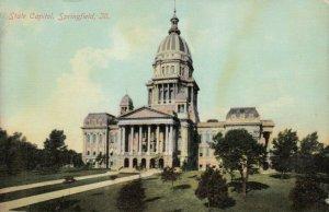 SPRINGFIELD , Illinois , 1900-10s ; State Capitol verision 3