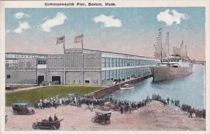 Massachusetts Boston Steamer At The Commonwealth Pier