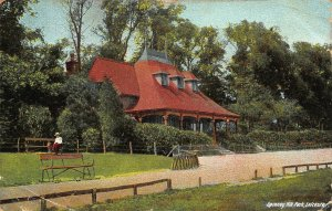 Spinney Hill Park Leicester Postcard