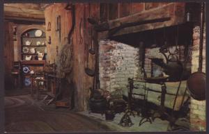 Kitchen Fireplace,John Alden House,Duxbury,MA