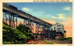 Hibbing, Minnesota - The Hull Rust Crushing and Screening Plant - 1940s