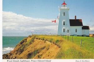 Wood Islands Lighthouse, Prince Edward Island, Canada, 1950-1970s