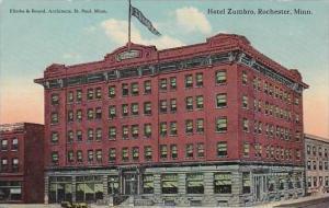 Minnesota Rochester Hotel Zumbro