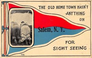Salem NY Old Home Town Hasn't Anything on This Town For Sight-Seeing~1914 PC