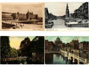 AMSTERDAM HOLLAND NETHERLANDS 150 CPA Mostly Pre-1960