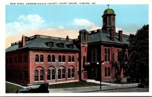 Maine Auburn New Wing Androscoggin County Court House