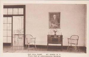 New York Mt Kisco Ray Hill Camp The Front Hall Of Administrative Building Alb...