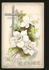 Postmarked 1911 Allandale Ontario Embossed Easter Postcard