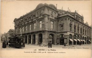 CPA Reims - Le Theatre -Construit de 1866 a 1873 par M.Alphonse Gosset (741848)