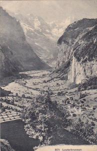 SWITZERLAND, 1900-1910´s; Lauterbrunnen