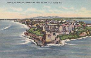Puerto Rico San Juan Morro Castle Curteich sk4393