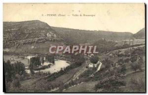 Boussergue Old Postcard Penne Vallee