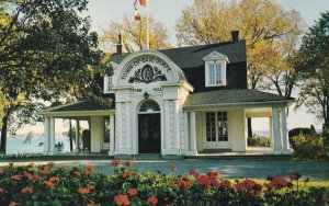 BAIE D'URFE, Quebec, Canada, PU-1984; The Town Hall Of Baie D'urfe