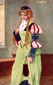 Beautiful Lady In Costume Gretchen