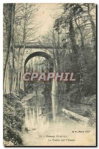 Old Postcard Orsay S and O The Viaduct Yvette