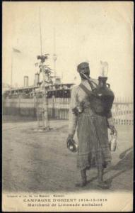 algeria, Native Oriental Lemonade Seller (1914)