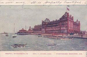 Virginia Fortress Monroe Hotel Chamberlin 1907