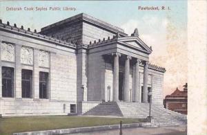 Rhode Island Pawtucket Deborah Cook Sayles Public Library