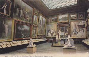 Interieur Du Musee, Hotel De Ville, Poitiers (Vienne), France, 1900-1910s