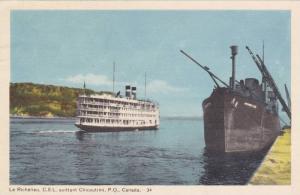 Le Richelieu, C.S.L. Quittant, Chicoutimi, Quebec, Canada, PU-1950