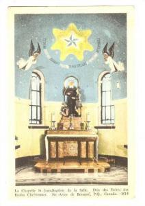 Chapelle,Ste.-Anne de Beupre,Canada,PU-1950