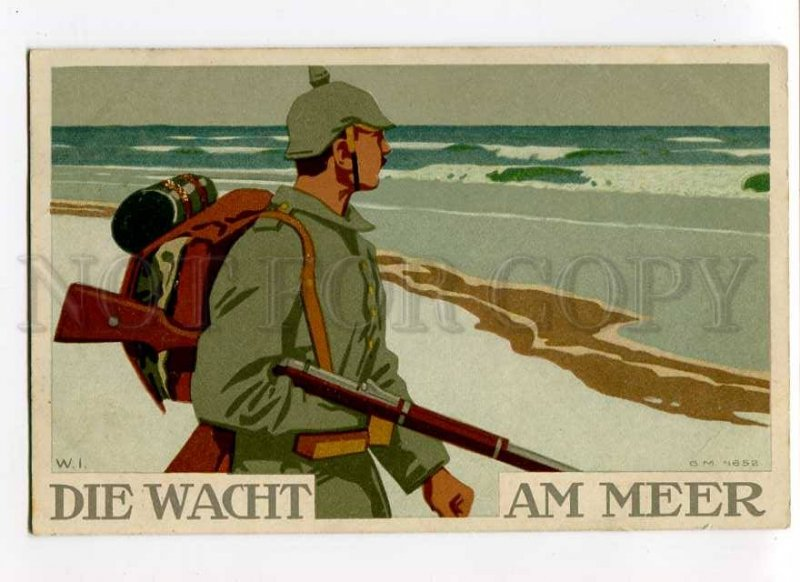 275773 Avant-Garde WWI Germany PROPAGANDA Sodier by W.I. old
