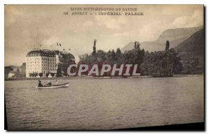 Postcard Old Aites Picturesque Savoy Annecy Imperial Palace
