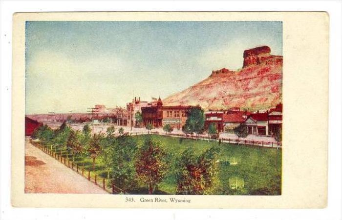 Green River, Wyoming, 1900-1910s