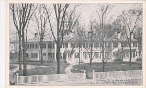 Maine Augusta Residence Of The Late James G Blaine Now Executive Mansion