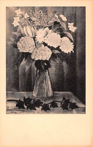 Artist Post Card Flowers in a Vase - Henri Rousseau Albright Art ...