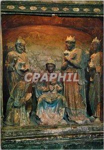 Postcard Modern Volterra Interno Duomo - It Presepio-Adorazione dei Re Magi P...