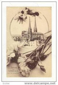 Souvenir de Bordeaux, La Cathedrale, France, 1900-1910s