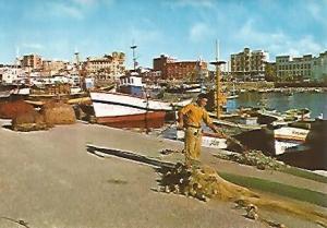 POSTAL 55608: CEUTA. Muelle pesquero
