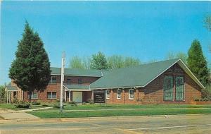 Selma Alabama~Wesleyan Methodist Church @ Highland & Broad 1950s Postcard