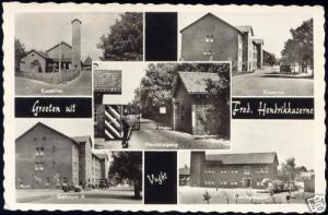 netherlands VUGHT, Fred. Hendrik Kazerne, Barracks 1959
