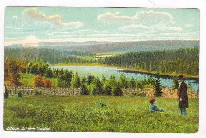 Rattvik, Dalarne, Sweden, 1900-1910s
