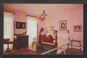 Master Bedroom,Octagon House,Watertown,WI Postcard
