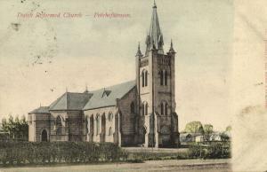 south africa, POTCHEFSTROOM, Dutch Reformed Church (1908) Stamp