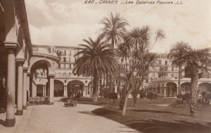 RP: Cannes , France , 1910-30s ; Les Galaries Fleuries