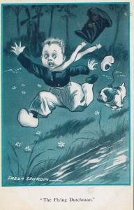 FRED SPURGIN; The Flying Dutchman , Bull dog chases Boy , 00-10s