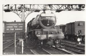 46211 Train At Crewe Station in 1959 Vintage Railway Photo
