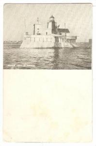Beacon Lighthouse In Harbor, 1900-1910s