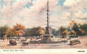 C-1905 Central Park Grand Circle New York Tuck postcard 12625