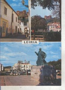 Postal 013823: Vistas varias de Leiria, Portugal