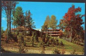 Vermont South Side of Main Mt. Lodge, Mt Snow WILMINGTON ~ Chrome 1950s-1970s