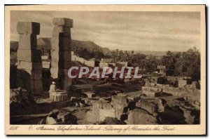 Postcard Ancient Egypt Egypt Aswan elephantine Island Gateway of Alexander th...
