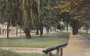 SUNBURY, Pennsylvania, PU-1909; Cameron Park, Canon