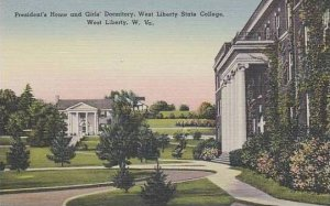 West Virginia West Liberty Presidents Home Girls Dormitory West Liberty State...